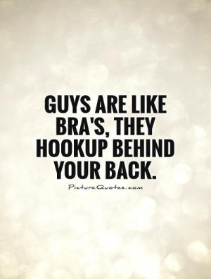 Quotes About Cheating Boyfriends your back Picture Quote 1