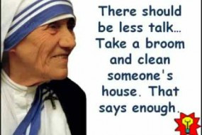 Quotes By Mother Teresa About Service ~ 35+ Penetrative Mother Teresa ...
