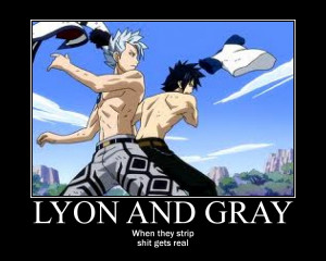 Lyon and Gray by 3xEverfrost