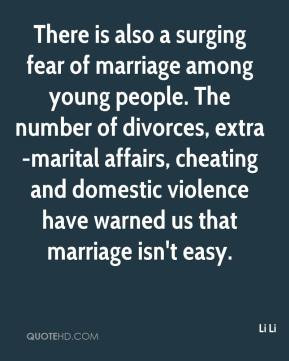 Li Li - There is also a surging fear of marriage among young people ...
