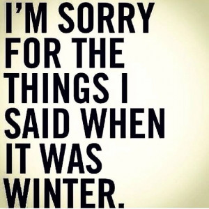 things I said when it was winter. Lol Laugh, I M, Quotes, Hate Winter ...