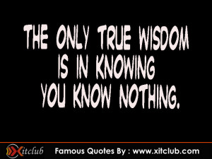 You Are Currently Browsing 15 Most Famous Wisdom Quotes