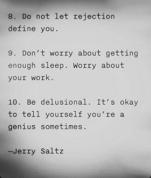 mindfudge:7knotwind:JERRY SALTZ advice for artists (quote found via ...