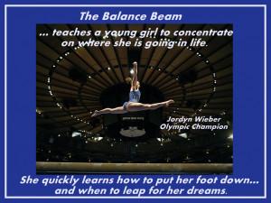 Jordyn Wieber Gymnastics Photo Quote Poster Wall Art Print 8x11 ...
