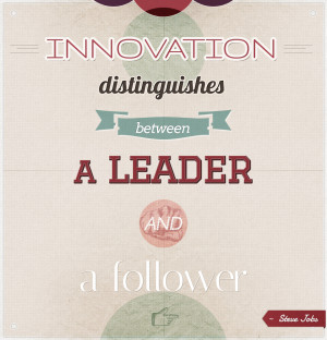 Innovation Quote Graphic