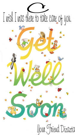 Messages of Get Well Soon
