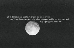 Stop crying your heart out * Stop Crying Your Heart Out, Oasis Quotes ...
