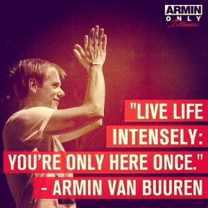 LIVE LIFE INTENSELY: YOU'RE ONLY HERE ONCE