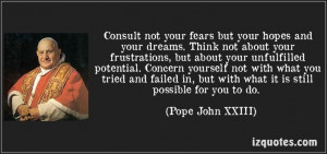 Pope John XXIII Quote