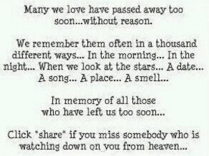 death quotes for loved ones passed love one home death