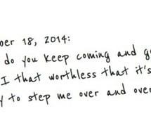 break up, depression, heartbreak, quotes, sad, worthless