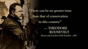 Theodore Roosevelt and George Bird Grinnell founded the Boone and ...