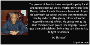 Immigration Policy quote 1