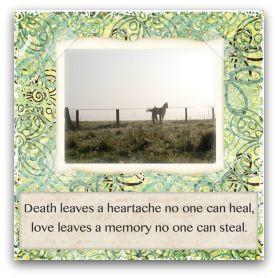 Free printable horse sympathy cards @ Simple Sympathy