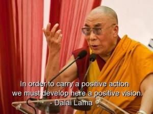Dalai lama best quotes sayings positive action vision