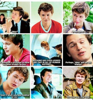 ... Quotes, Water Quotes, Agustus Water, Augustus Waters Quotes, Best