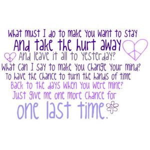 one more chance quote by ♥ Տɱ[ɩℓ]ℯ[ყ] ‿