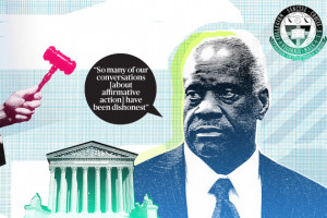 Clarence Thomas on His Opposition to Affirmative Action