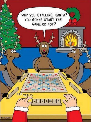 Cartoon of the Day: Holiday Scrabble