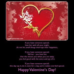 Special valentine :: Valentine quotes ::