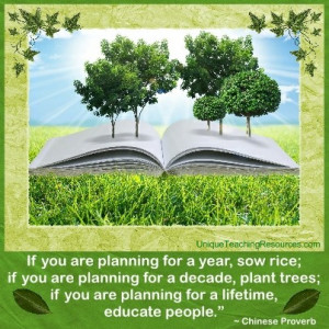 ... trees-if-you-are-planning-for-a-lifetime-educate-people-chinese