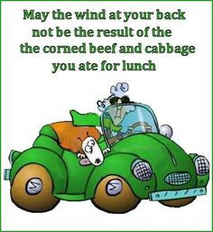 St. Patrick's Day Humor: Maxine comments on wind power. More