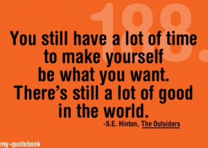 The Outsiders - Quote