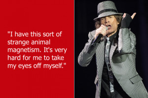 ... Jagger' to pay homage to Rolling Stones frontman Mick Jagger instead