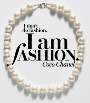 ... chanel quote high fashion coco chanel pearl capsules quotes quotes