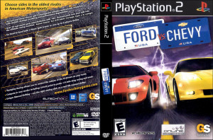FORD CHEVY - PS2