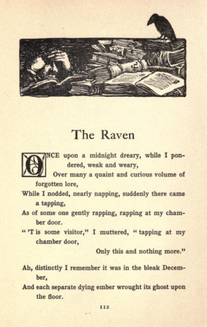 The Raven by Edgar Allan Poe Tumblr