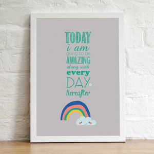 INSTANT DOWNLOAD, Printable wall decor, inspirational quotes poster