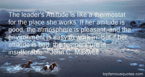 Top Quotes About Attitude At Work