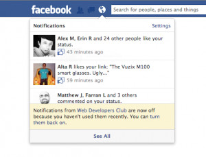 Facebook Automatically Opts Users Out of Unused... - Product Design ...