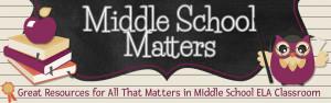 Middle School Matters Blog