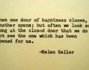... quote happiness quote opportunity optimism optimistic quote helen