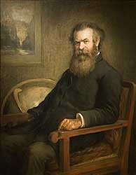 Portrait of John Wesley Powell which hangs at the National Portrait ...