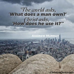 Andrew Murray Quote – Giving