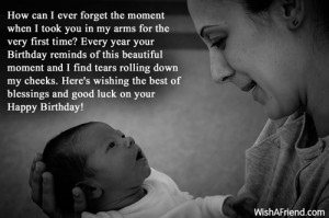 1040 son birthday wishes Blissful Birthday Quotes For my Mom