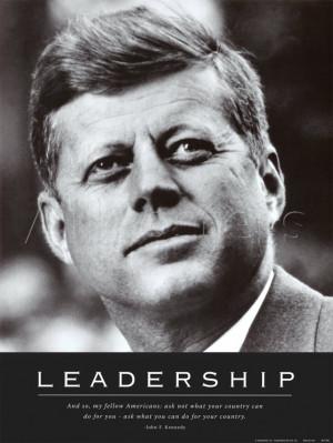 Leadership: JFK