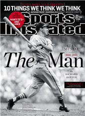 stan musial - 1920-2013 the man sports illustrated magazine cover