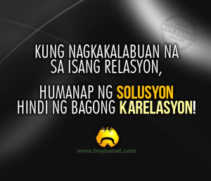 Pinoy Random Quotes and Tagalog Random Sayings