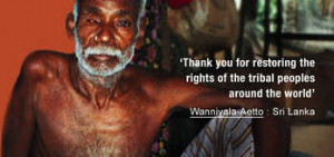 Sri Lanka: Survival calls on UN to stand up for Wanniyala-Aetto 13 ...