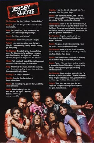 Homepage › Jersey Shore - Quotes »