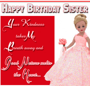 little sister birthday quotes