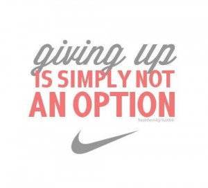 quotes nike women fitness quotesnike womans ad fitness i inspiration ...