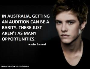 Xavier Samuel Quotes