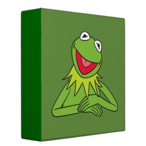 Kermit the Frog Binders