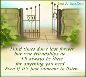 ll Always be there for Anything You Need ~ Friendship Quote