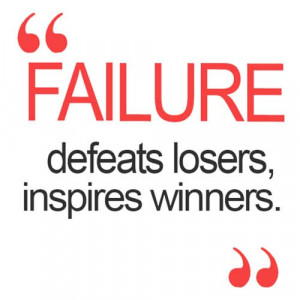 Responses to Failure, another name of success